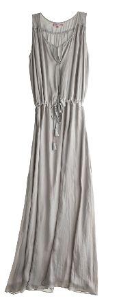 Calypso St. Barths Mischka Maxi Dress Carole Radziwills Blue St. Barths Maxi Dress & Necklace