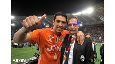 #2x2 - Juventus Coppa Italia - Buffon and Mister Allegri