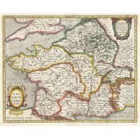 Gaule romaine - Carte de 1657
