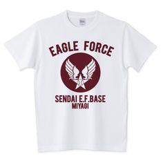 EAGLE FORCE | デザインTシャツ通販 T-SHIRTS TRINITY(Tシャツトリニティ)