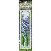 Bookmark kit bluebells counted cross stitch kit from National Heritage a lovely gift for creative people embroidery tapestry by PurpleValleyDesign on Etsy