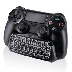 03e9e0c397fd83 Buy Nyko Glow in the Dark Type Pad Bluetooth Mini Wireless Chat Pad Message  Keyboard with Built-in Speaker and Jack for PlayStation DualShock 4  Controller ...