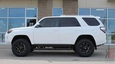 pictures of 4 runners with lift kit   18x9.0 FUEL Hostage wheels mounted with Toyo AT2 tires and a 3 inch ...