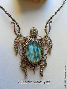 """Pendants handmade. Fair Masters - handmade Pendant """"Turtle"""" .. Handmade."""
