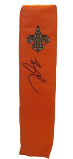 Brandin Cooks signed New Orleans Saints full size football touchdown end zone pylon w/ proof photo.  Proof photo of Brandin signing will be included with your purchase along with a COA issued from Southwestconnection-Memorabilia, guaranteeing the item to pass authentication services from PSA/DNA or JSA. Free USPS shipping. www.AutographedwithProof.com is your one stop for autographed collectibles from New Orleans sports teams. Check back with us often, as we are always obtaining new items.