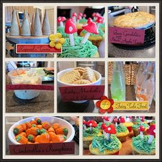 fairy tale party food