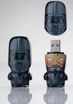 Darth Vader USB Flash Drive, i have this . All my company art work is on it. Usb Drive, Usb Flash Drive, Star Wars, Geek Gadgets, Dark Side, Nerdy, Geek Stuff, Darth Vader, Cool Stuff