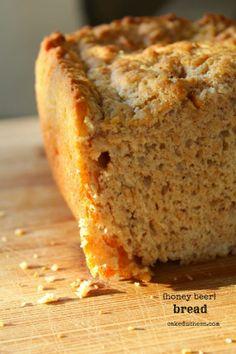 Um, I cannot WAIT to make this!!! Honey Beer Bread ala The Cake Dutchess. I'm on a baking kick!