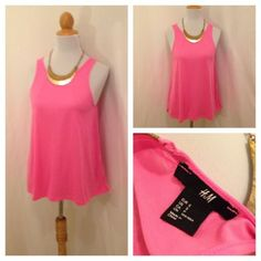 H&M racerback swing tank size small avail now