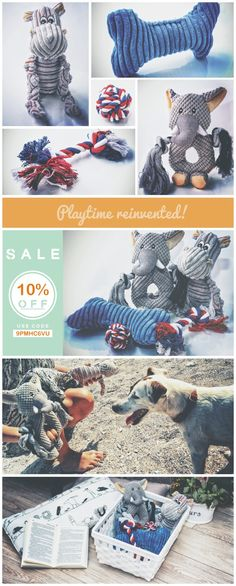 DOG TOYS 5pcs PACK – A gift set that takes away boredom from your puppy's life, helps curb anxiety & better channelize excess energy, relieve pain & soreness post-teething and ideal as a cuddle-buddy as well , simply to carry around or to sleep with. We also offer 100% RISK-FREE SATISFACTION GUARANTEE! So why wait? ORDER NOW and get this pet-friendly, safe and durable dog toys pack for your pet or for a buddy with an active dog!