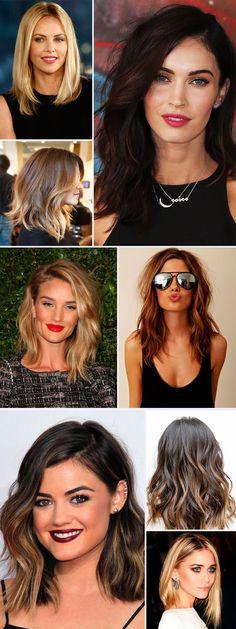 15 fotos pra te ajudar a tomar coragem de cortar o cabelo!