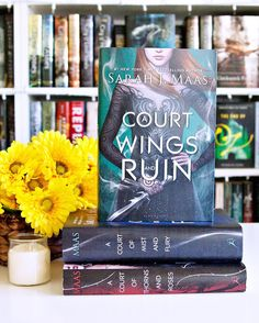 And Happy Book Birthday to A Court of Wings and Ruin by Sarah J. Maas!! --- As I mentioned earlier this week I am really behind on his series. I read ACOTAR when it first came out and I meant to read ACOMAF last year and haven't had a chance to yet. My plan is to reread ACOTAR this month or next month and read ACOMAF and ACOWAR as well. --- So many abbreviations there. I'm confusing myself. --- Who is reading A Court of Wings and Ruin today?? I hope you're loving it!! --- #newbook…