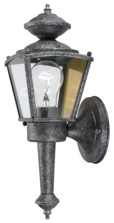 Hardware House 544197 13-1/2-Inch by 4-1/2-Inch Outdoor Lighting Fixture Antique Silver by Hardware House. $24.91. From the Manufacturer                13-1/2-inch x 4-1/2-inch antique silver 1 light coach lantern outdoor fixture                                    Product Description                Dimable: TRUE.. Save 14% Off!