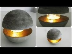 Betonlampe selber bauen | Lampe aus Beton | DIY | Kreativ-Beton | Lampe selber machen | How to - YouTube