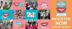 Interested? Get involved! Register your interest and receive your free National Smile Month2015 registration pack! Go to: http://www.nationalsmilemonth.org/register/ #NSM15 #NationalSmileMonth