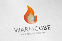 WarmCube by vectorlogos89 on Creative Market