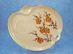 Hand Painted Japanese Snack Plate from 1920s- Excellent Condition by RichardsRarityRealm on Etsy