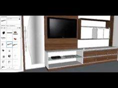 Projetando Painel de TV para quarto