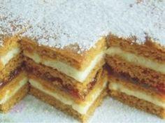 Prajitura cu foi de miere Romanian Desserts, Romanian Food, Sweets Recipes, Cake Recipes, Cooking Recipes, Honey Dessert, Croatian Recipes, Sweets Cake, Little Cakes