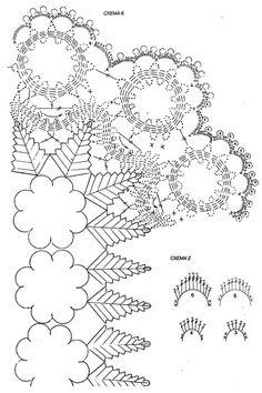Delicadezas en crochet Gabriela: Centro de mesa de navidad