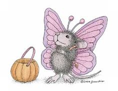"""Monica from House-Mouse Designs® featured on the The Daily Squeek® for November 1st, 2013. Click on the image to see it on a bunch of really """"Mice"""" products."""