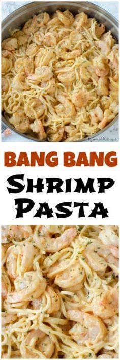 Bang Bang Shrimp Pasta! – My Incredible Recipes