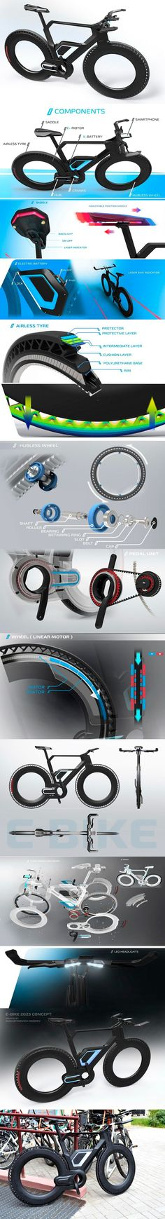 The electric bike designer: Avgustinovich Andrey
