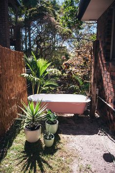 Spell Designs DIY Outdoor Bath
