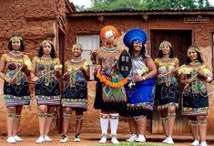 ndebele traditional attire for men / ndebele traditional attire African Fashion Skirts, South African Fashion, African Fashion Designers, African Inspired Fashion, Africa Fashion, Zulu Wedding, African Traditional Dresses, African Culture, African Beauty