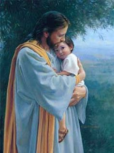 In Thy Tender Care by Kathy Lawrence in our with Children gallery. images of Jesus Christ with art prints, canvas and framed. Offering both loved classics & new Christian art. Images Du Christ, Pictures Of Jesus Christ, Image Jesus, Jesus Tattoo, Jesus Painting, Lds Art, Jesus Christus, Jesus Art, Daughters Of The King