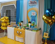 Adventure time Birthday Party Ideas | Photo 1 of 21 | Catch My Party