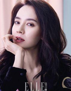 Song Ji Hyo / Lee Sun Kyun / Elle Korea / November 2016