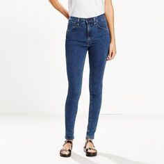 Rooted in our history, Line 8 is a future-focused approach to iconic Levi's® style, featuring bold accents and unexpected details. Super high rise. Super long leg. Super stretch fabric. Enough said. The Rebel is a distinctive tapered jean that adds an easy edge to any outfit, day or night. It contours to your shape and moves with you seamlessly.