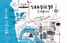 charlotte lucie farmer map of San Diego