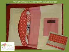 Porta fralda para viagens - presente lindo para recém nascido - Além Brasil