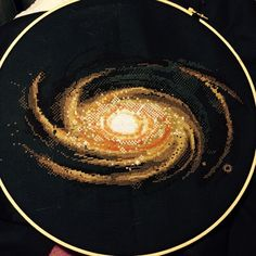 Thrilling Designing Your Own Cross Stitch Embroidery Patterns Ideas. Exhilarating Designing Your Own Cross Stitch Embroidery Patterns Ideas. Hand Embroidery Patterns, Diy Embroidery, Cross Stitch Embroidery, Modern Cross Stitch, Cross Stitch Designs, Cross Stitch Patterns, Spiral Galaxy, Galaxy Cross, Cross Stitching