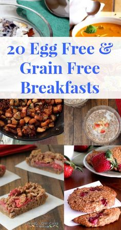 20 Egg Free and Grain Free Breakfast Recipes (scheduled via http://www.tailwindapp.com?utm_source=pinterest&utm_medium=twpin&utm_content=post54528110&utm_campaign=scheduler_attribution)