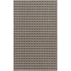 Alcott Hill Casper Gray Indoor/Outdoor Area Rug Rug Size: 5' x 7'