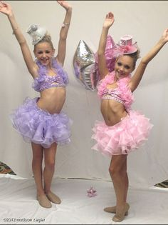 dance moms chloe and maddie