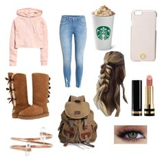 """""""Campus"""" by hannahsdisney on Polyvore featuring UGG, Tory Burch and Gucci"""