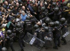 Teljes káosz Katalóniában: születése előtt szétverik Európa új államát? NE FELEDJÜK, SPANYOLORSZÁG IS EGYIKE AZOKNAK AKIK ELŐSZERETETTEL GYARMATOSÍTOTTAK ÉS MEGSZÁLLVA TARTOTTAK MÁS NÉPEKET! EZEN ORSZÁGOK ÁLAL ALAPÍTOTT UNIO- HOZ CSATLAKOZTUNK MI IS!