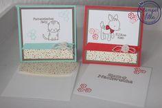 Stampin' Up! Mini-Karten Zum Nachwuchs, Made with Love