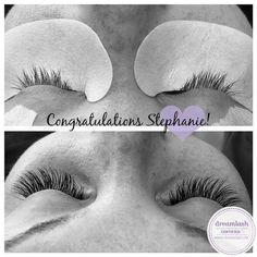 We'd like to congratulate Stephanie L. on earning her Dreamlash Certification. Well done Stephanie