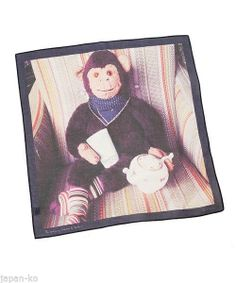 Paul Smith - Handkerchief Mr Brown (Tea)