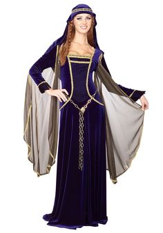 Medieval & Renaissance Clothing | ... Costumes Adult Renaissance Costumes Ladies Medieval Princess Costume
