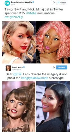 There Is No Nicki Minaj vs. Black People Can Discuss Both. Incredible author, activist and media personality Janet Mock responded so well to the consistent misogynoir (anti-Black. Janet Mock, Intersectional Feminism, Patriarchy, Nicki Minaj, Black People, Social Justice, Human Rights, Girl Power, Equality