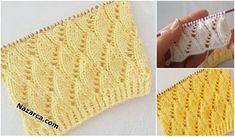 KOLAY ETAMİN ÖRNEKLERİ   Nazarca.com Granny Square Crochet Pattern, Tunisian Crochet, Baby Knitting Patterns, Crochet Patterns, Fingerless Gloves, Baby Dress, Arm Warmers, Crochet Baby, Fashion