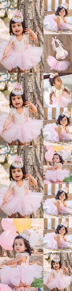 Baby Girls Clothing: Us Stock Baby Girl Lace Floral Romper+Tutu Skirts Dress Outfits Set 6-12M Yy06 -> BUY IT NOW ONLY: $0.01 on eBay!