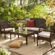 Find it at the Foundary - Broadway All-Weather Wicker Conversation Set