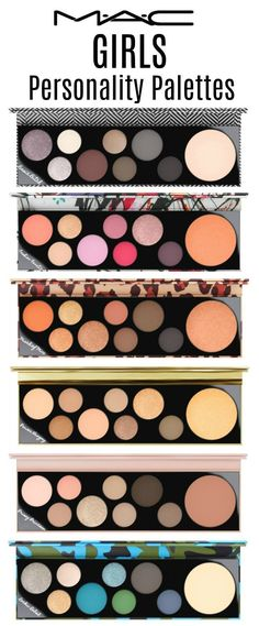 MACGirls Collection personality palettes